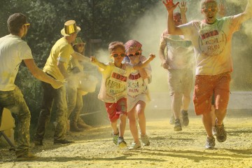 Holi Run Ans
